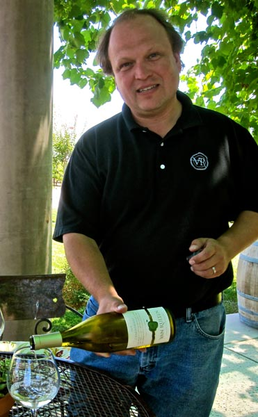 Van Ruiten winemaker Ryan Leeman