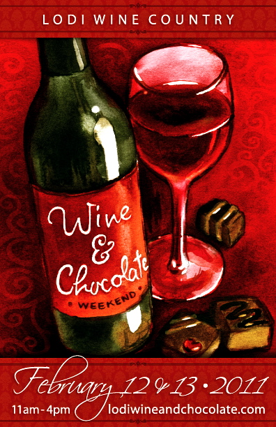 Wine & Chocolate Weekend in Lodi!