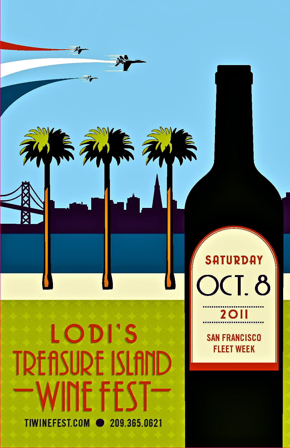 Lodi's Treasure Island WineFest