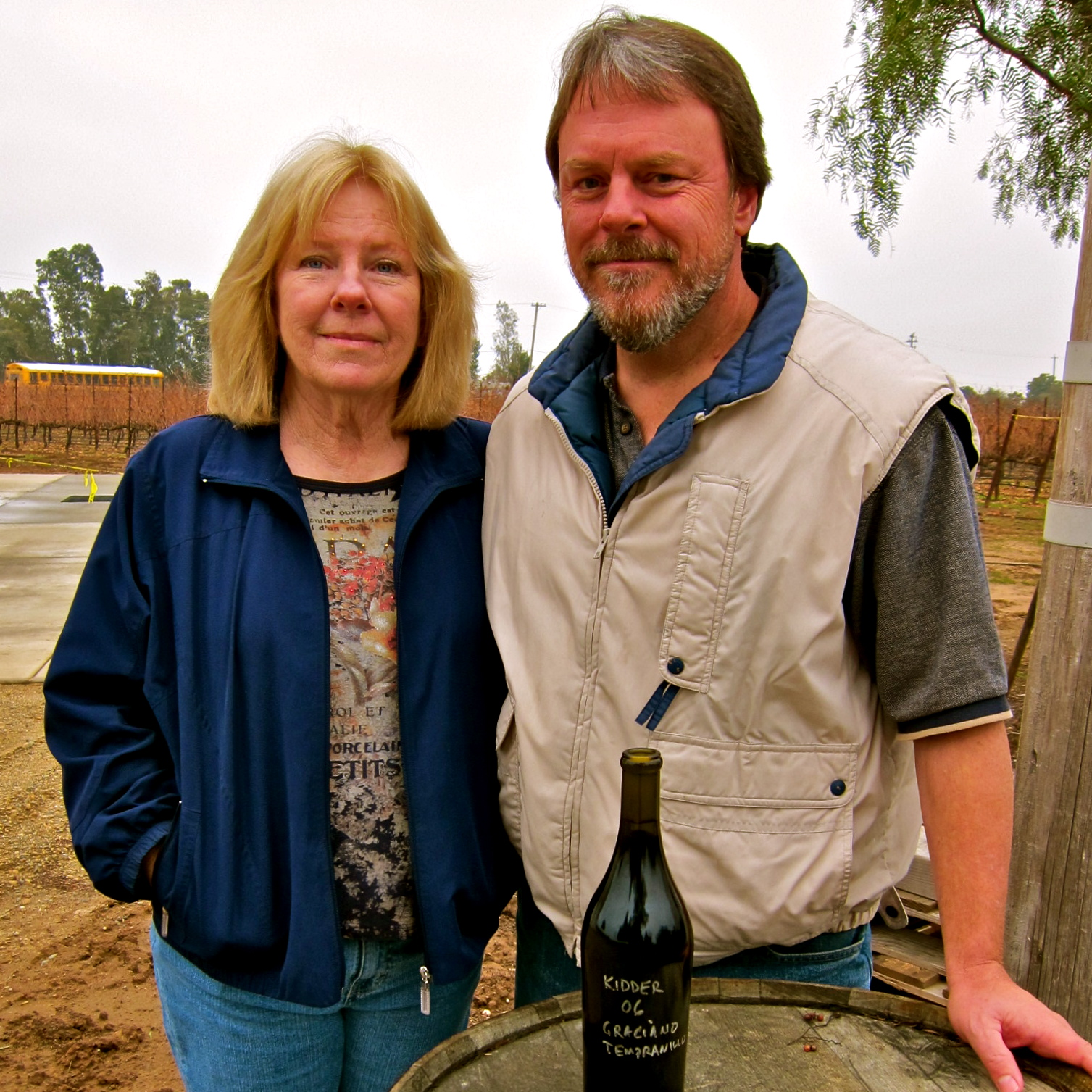 Kidder Family rising star wines