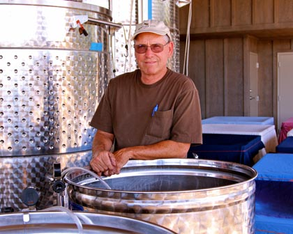 Heritage Oak Winery owner/winemaker Tom Hoffman