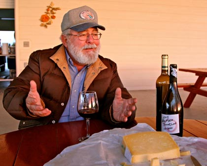 January 2013: Silvaspoons Vineyards' Ron Silva talks about what it's all about (grape growing, handcraft wine and artisanal cheese)