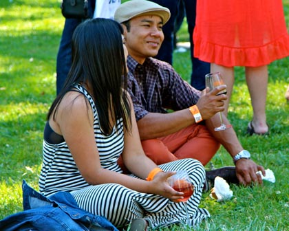 """The face of """"new"""" wine lovers at 2013 Lodi ZinFest"""