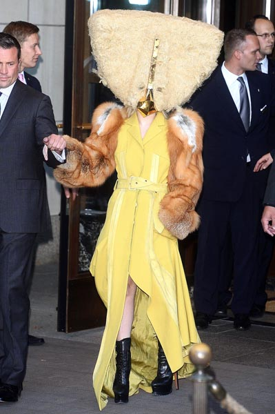 Lady Gaga's chicken statement