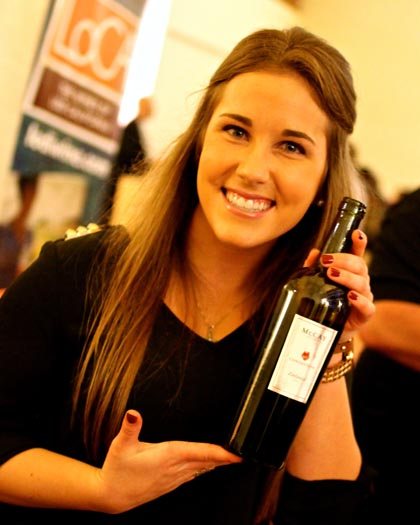 McCay Trulux Zinfandel poured at 2014 ZAP Experience