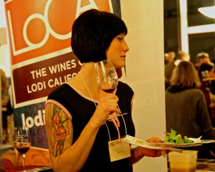 Lodi Zinfandel lover at 2014 ZAP