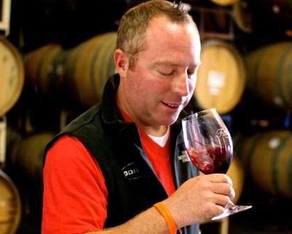 Odisea owner/winemaker Adam Webb