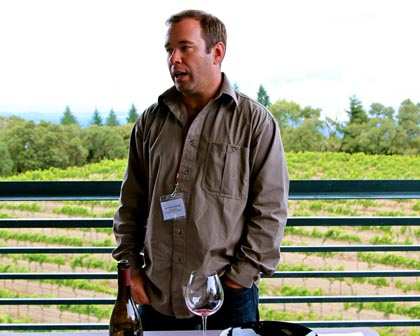 "Precedent's Nathan Kandler, one of our  outstanding ""Lodi Outsiders"" speaking at the Lodi ZinFest Wine School"