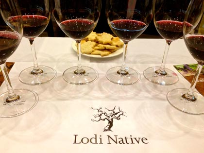 Debut of Lodi Native Zinfandels on March 29, 2014 (photo by pullthatcork.com)
