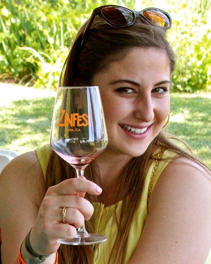 ZinFest wine maven