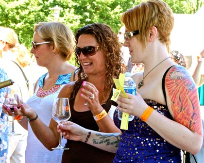 Wine lovers of every stripe at ZinFest
