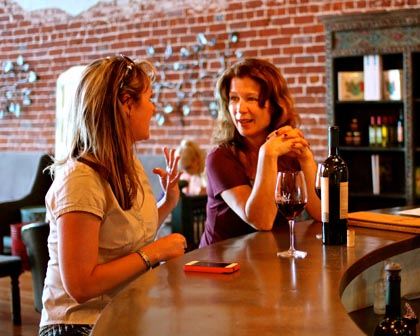 Downtown Lodi's Wine Social wine bar