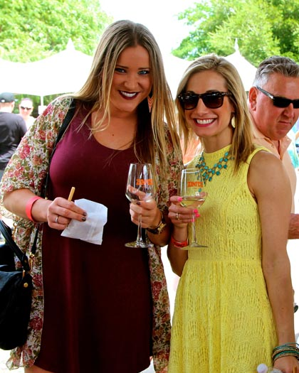 These ladies enjoying their Lodi whites…