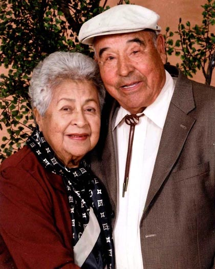 Don Victor and Aurora Anaya