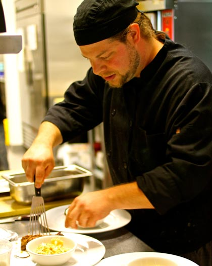 Villa Wise's Chef James Herzig
