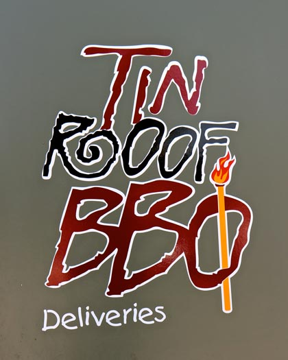 Tin Roof BBQ restaurant