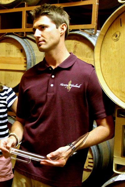 Winemaker Shaun MacKay