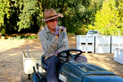 Mokelumne Glen Vineyard owner/grower Bob Koth