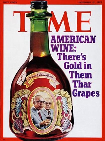 There was a time when over 95% of the table wines consumed by Americans were generic jugs like Gallo's Hearty Burgundy (made primarily from Lodi grown Zinfandel)