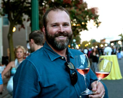 Double threat:  Adam Mettler; star winemaker for both Michael David and Mettler Family