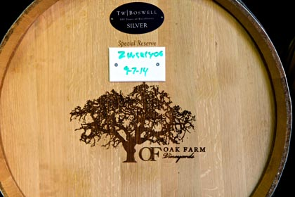 Oak Farm barrel
