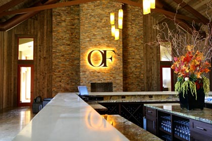 Oak Farm tasting room