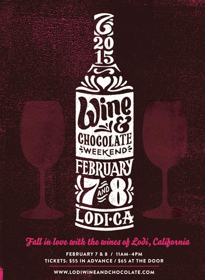 Lodi Wine & Chocolate Weekend, February 7 & 8