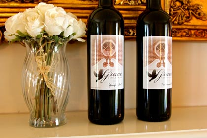 Grace Vineyards' gracefully balanced Zinfandel and Tempranillo…