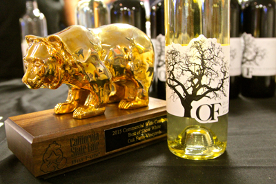 "Oak Farm Albarino: California State Fair's ""Best of Show White"""
