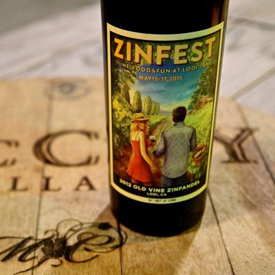 2012 ZinFest Commemorative Zinfandel
