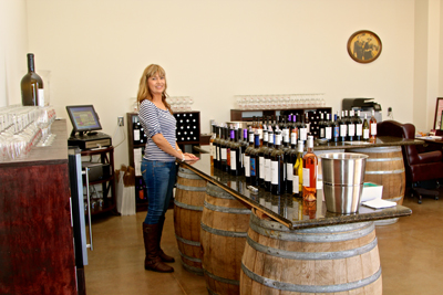 Stama Winery's new tasting room