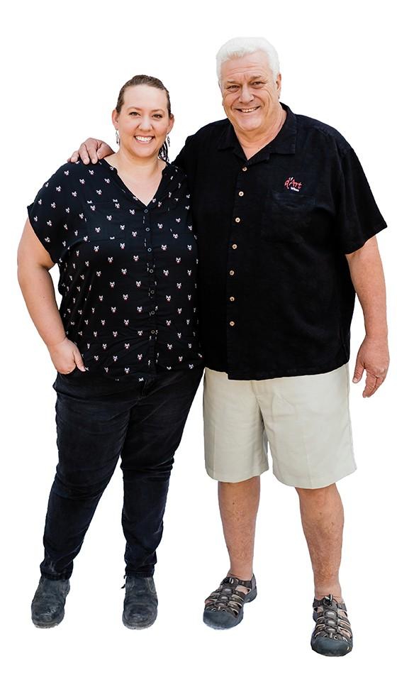 Dave and Jessica Dart
