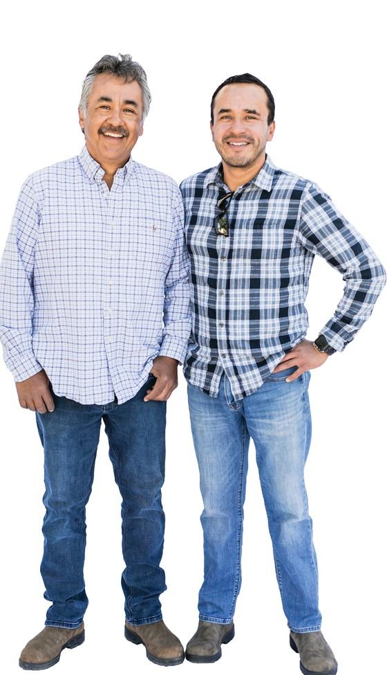 Gerardo Espinosa and Gerardo Anaya