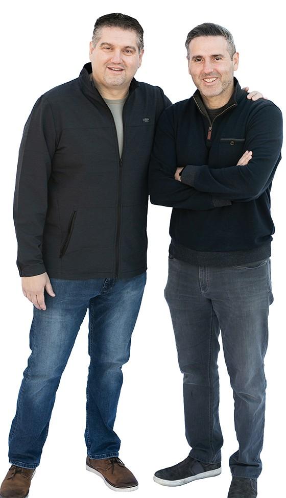Jeff & John Perlegos