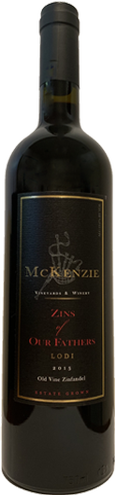 2015 McKenzie Vineyards Zins of our Fathers Zinfandel
