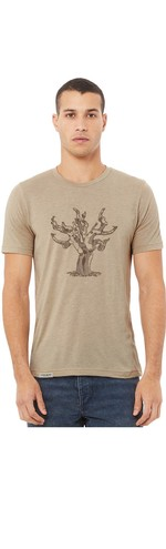 Old Vine Unisex/Men's T-Shirt - Tan