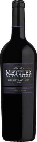 2017 Mettler Family Vineyards Cabernet Sauvignon