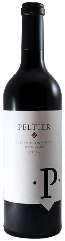 2016 Peltier Winery Estate Grown Old Vine Zinfandel