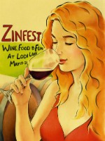 2017 ZinFest Commemorative Poster