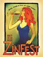 2008 ZinFest Commemorative Poster Image