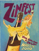 2010 ZinFest Commemorative Poster