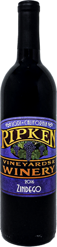 2016 Ripken Vineyards Zindego
