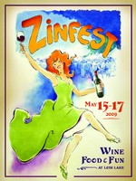 2009 ZinFest Commemorative Poster