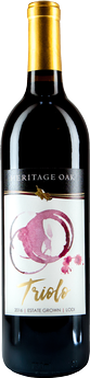 2016 Heritage Oak Winery Triolo