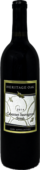 2014 Heritage Oak Winery Cab/Syrah Blend
