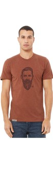 Gnarly Old Growth Unisex/Men's T-Shirt - Clay