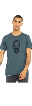 PRE-ORDER: Gnarly Old Growth Unisex/Men's T-Shirt - Steel Blue