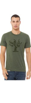 Old Vine Unisex/Men's T-Shirt - Miltary Green