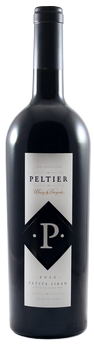 2015 Peltier Winery Black Diamond Petite Sirah Image