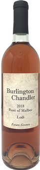 2018 Burlington Chandler Rosé